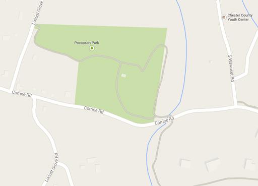 Pocopson Park Map