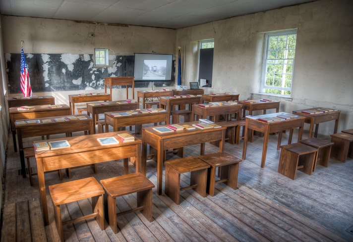 schoolhouse interior 2014