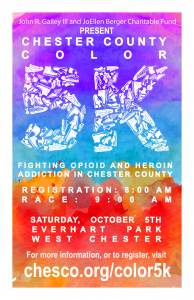 Chester County Color 5k Event